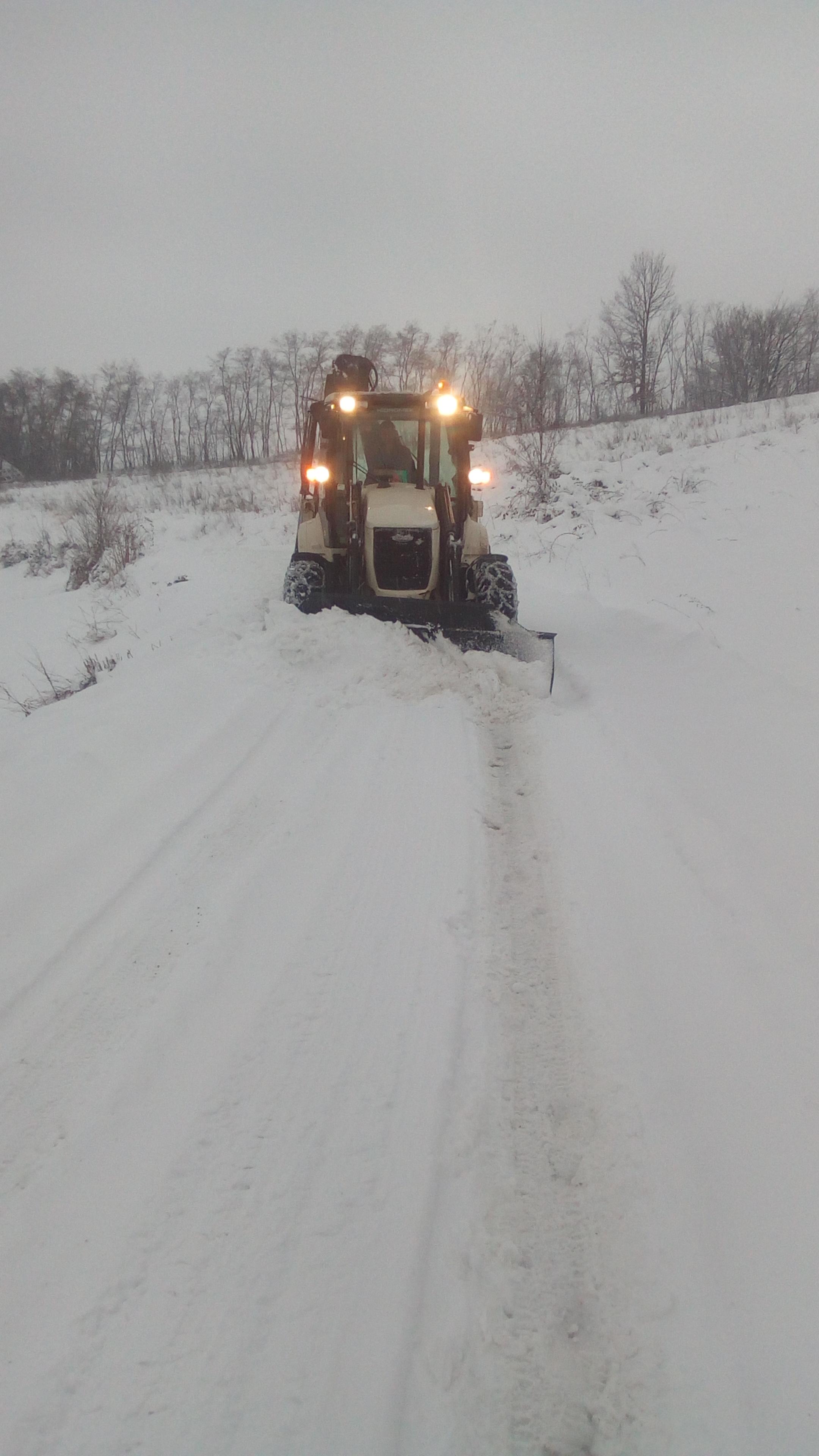 Снимак чишћења снега – Галич