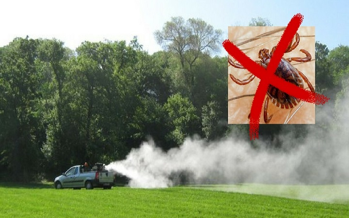 Обавештење о плану запрашивања парковских површина против крпеља